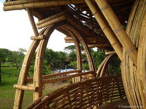 bamboo treehouse, bamboo tree house